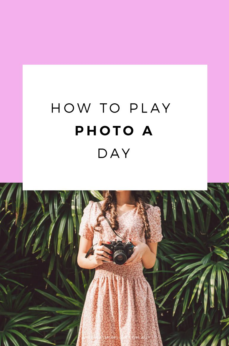 So, you want to play Photo A Day? It couldn't be easier. Click to find out how you can improve your photography, make new friends and have a whole lot of creative fun too! Yay! Get started now!