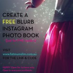 Just for FMS readers: Create a FREE Blurb Instagram book!