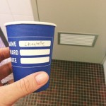 The time I cried in the supermarket {& an incident with a coffee cup}