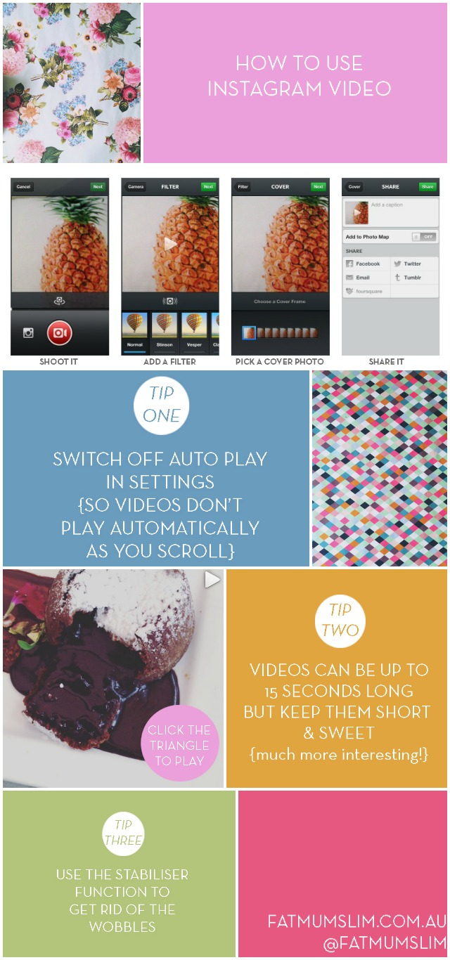Tips + tricks: How to use Instagram Video