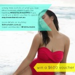 Instagram competition: Win a $600 Sequins & Sand voucher
