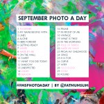 September Photo A Day Challenge: The list YOU created!