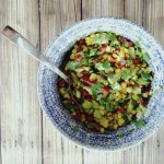 Mexican sweetcorn salsa