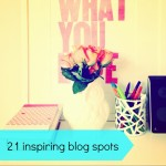 Be inspired: 21 fab bloggers share where they blog