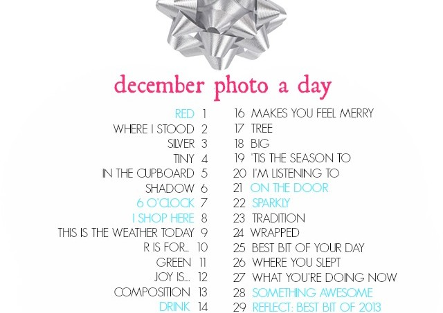 December photo a day