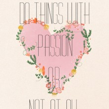 BLOGversation: What are you passionate about?