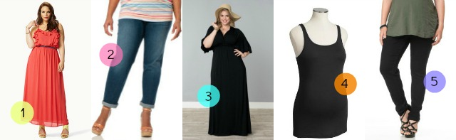 Top 5: My fave plus-size maternity pieces {  where to shop if you ...