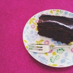 Delicious & dairy-free chocolate fudge cake