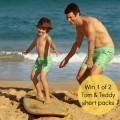 Tom_Teddy man and boy face surfboard