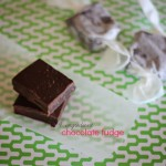 4 ingredients: Rich chocolate fudge
