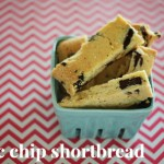 Food as gifts: Choc chip shortbread
