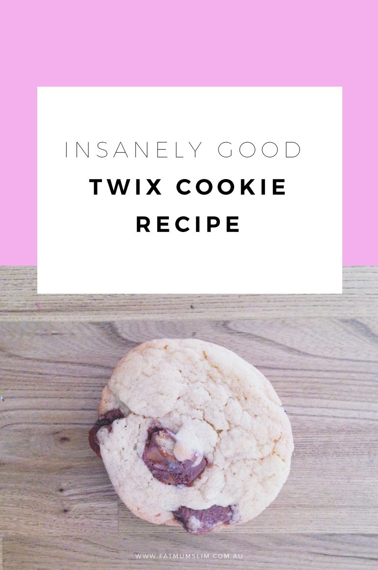 Have you ever tried a Twix cookie? No? GASP. Twix Cookies are the perfect cookie addition - chocolate, caramel, shortbread... it's PURE BRILLIANCE. Get the recipe here...