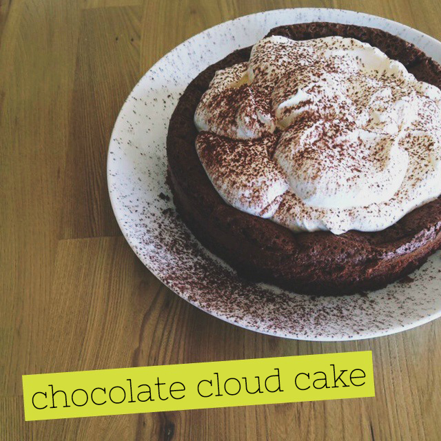 Get in your belly: Chocolate Cloud Cake - Fat Mum Slim | LIVING LIFE ...