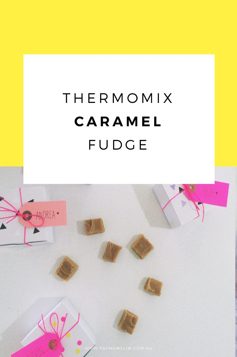 If you make one thing in your Thermomix, it should be this delicious Thermomix Caramel Fudge. It's amazing! Get the recipe!