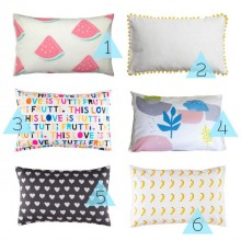 Sleep tight: Six pillowcases to make your bedroom happy