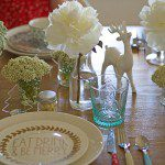 A very eclectic Christmas: How I styled our Chrissy lunch