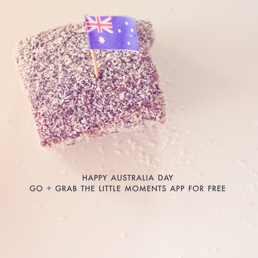 Happy Australia Day  Have the Little Moments App for FREE