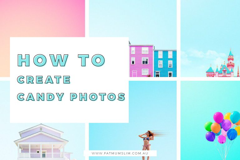 This is such a fun technique! You might have admired the candy-coloured photos spotted all over Instagram, but didn't quite know how to achieve it. This step-by-step tutorial will have you creating candy photos in no time!