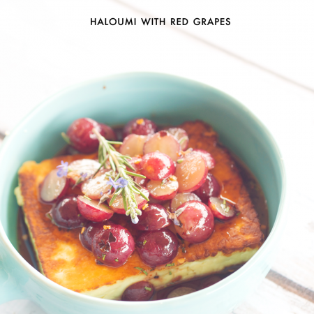 haloumi-with-grapes