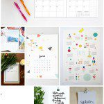 Eight printable calendars for 2015 {and an awesome free one for bloggers}