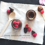Magical Chocolate Mousse for Two