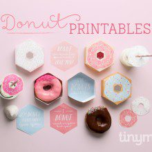 Donut Printable: Donut be silly, have fun!