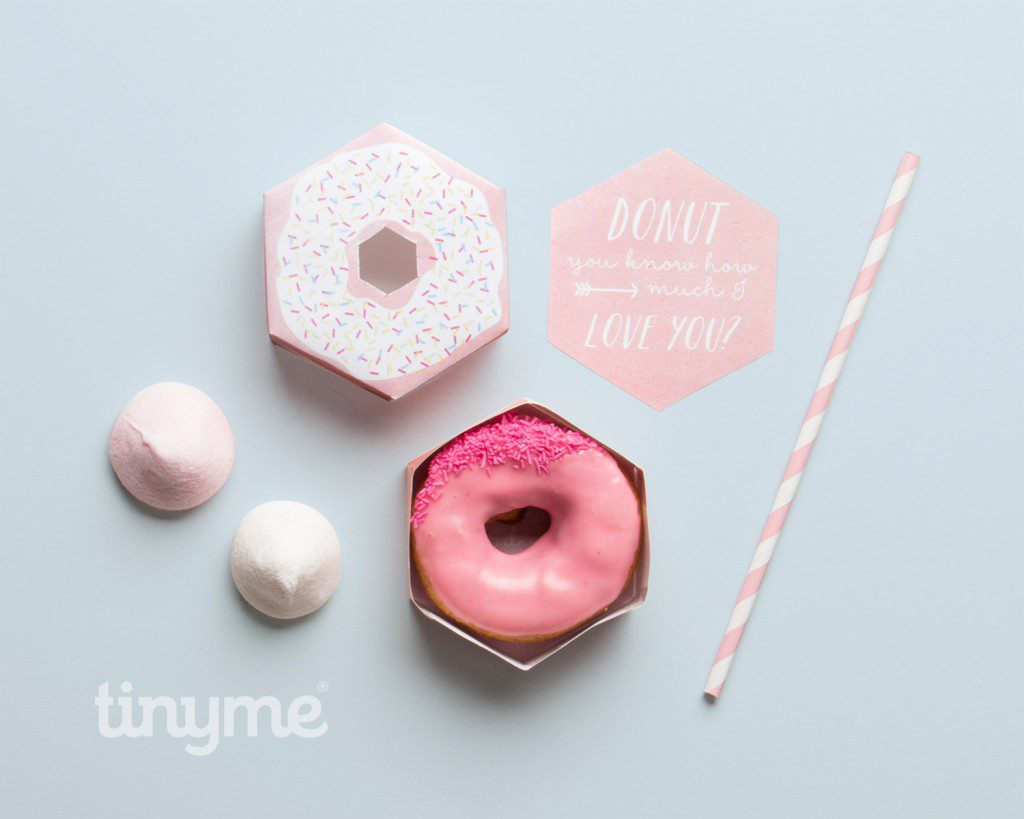Donut Printables: I donut want anyone but you!