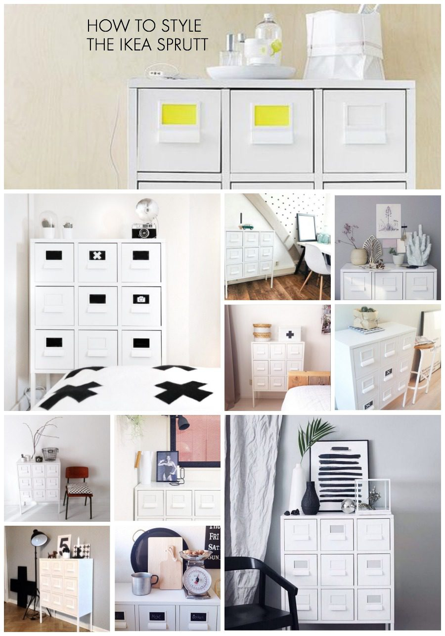 How to style an IKEA Sprutt