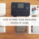 How to print your Instagram photos at home