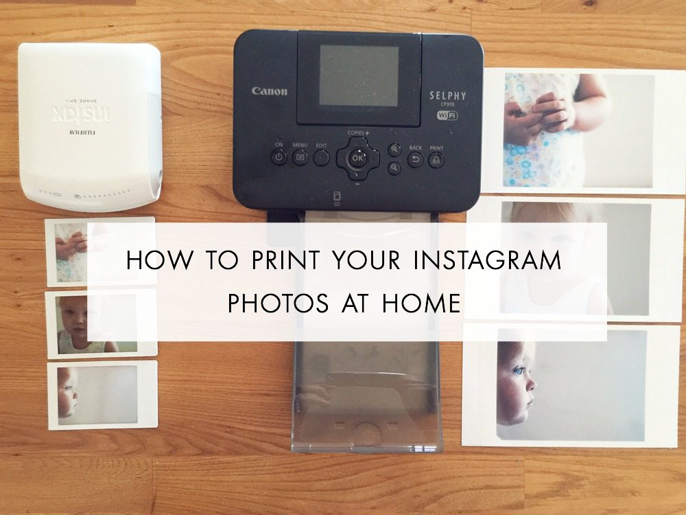 how to print your instagram pos at home - fat mum slim