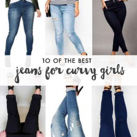 Jeans for curvy girls