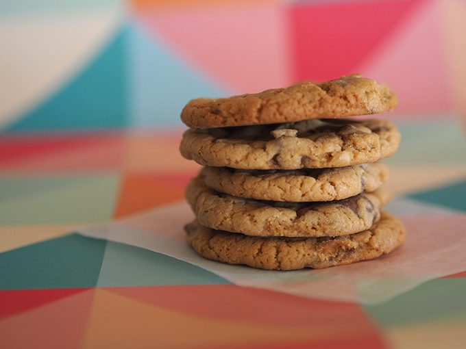 The best chewy choc-chip cookies EVER
