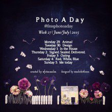 Photo A Day Challenge // Week 27