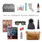 Win my favourite winter essentials! {Over $500 worth of beautiful goodies!}