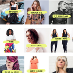THE online plus-size shopping guide