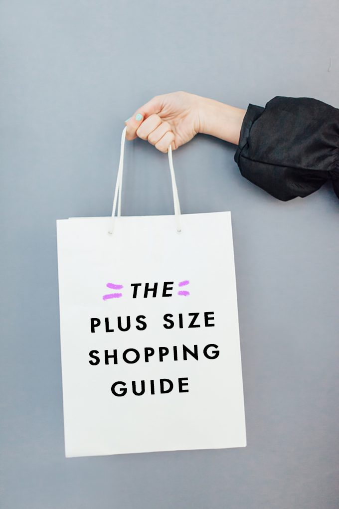 THE plus size shopping guide