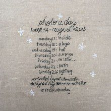 Photo A Day Challenge 2015 // Week 34