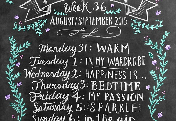 Photo A Day Challenge 2015 // Week 36