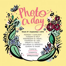 Photo A Day Challenge 2015 // Week 37