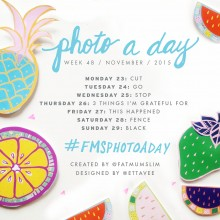 Photo A Day Challenge 2015 // Week 48