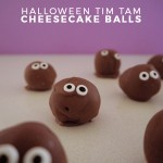 Halloween Tim Tam Cheesecake Balls Recipe