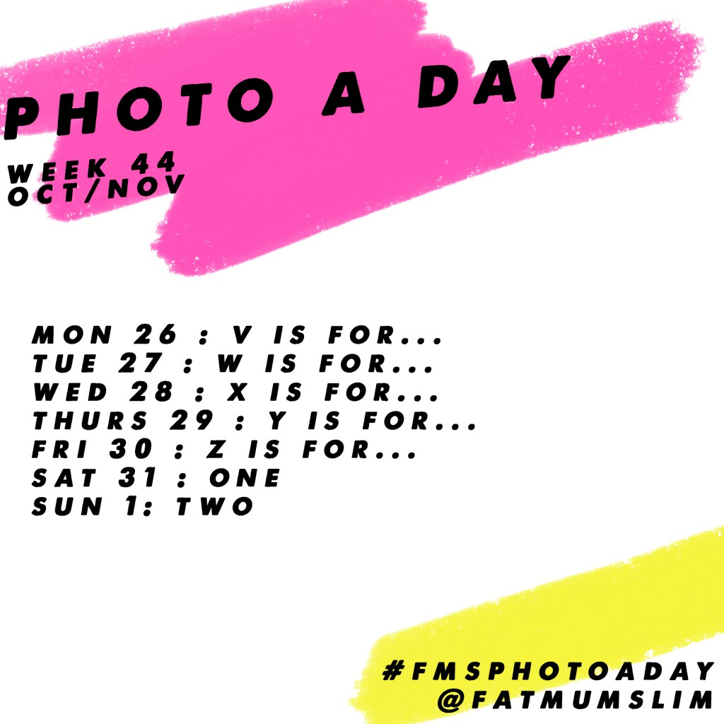 Photo A Day Challenge // Week 44