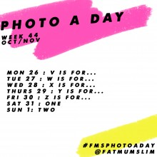 Photo A Day Challenge 2015 // Week 44