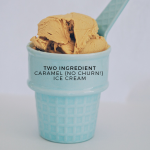 Two ingredient, No-churn, Caramel Ice Cream