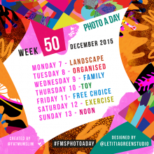 Photo A Day Challenge 2015 // Week 50