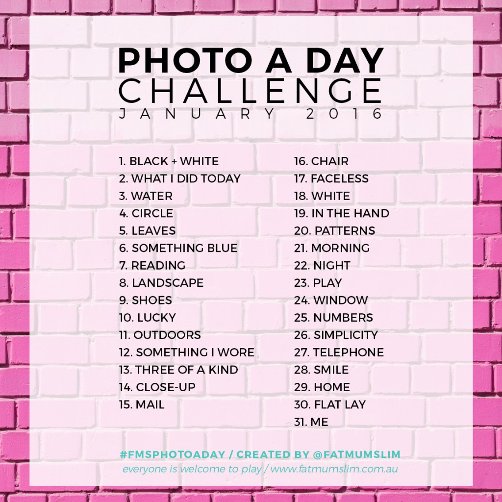 Photo A Day Challenge / January 2016