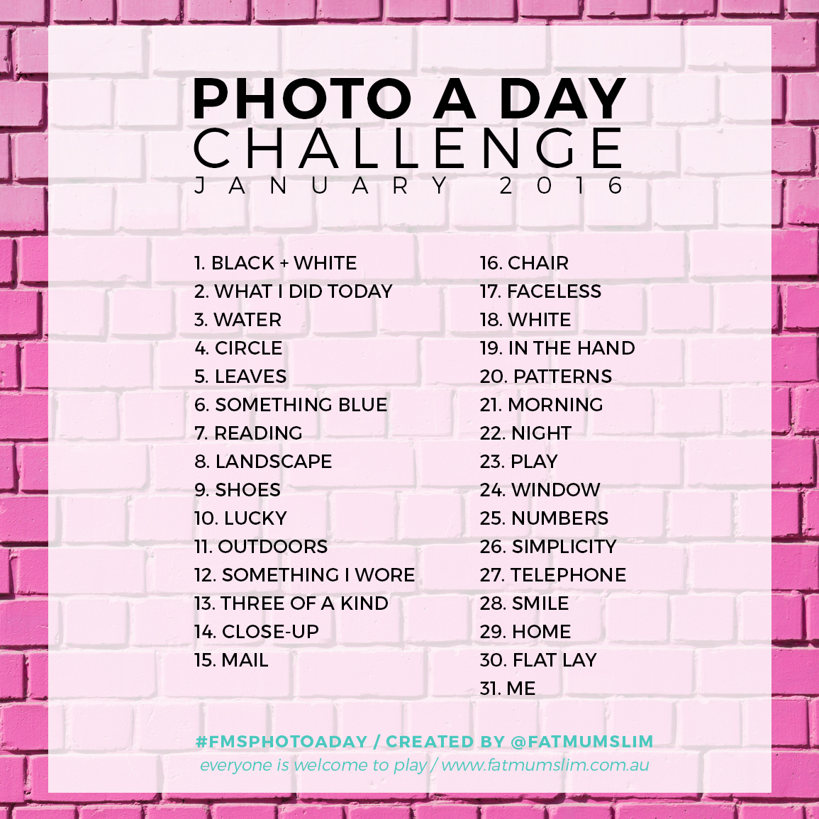 To acquire Challenge January instagram pictures pictures trends