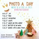 Photo A Day Challenge 2015 // Week 52