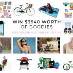 Win over $3940 worth of amazing goodies