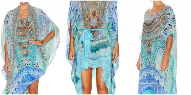 26251e41b6 Camilla. + I can t go past a kaftan for a burst of colour. Wear a kaftan as  a dress (just add a longline bamboo slip) or wear over shorts or pants.